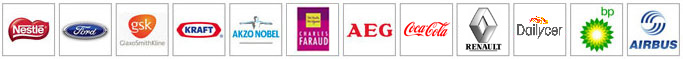 Logos of just some of the companies that use Armagard products