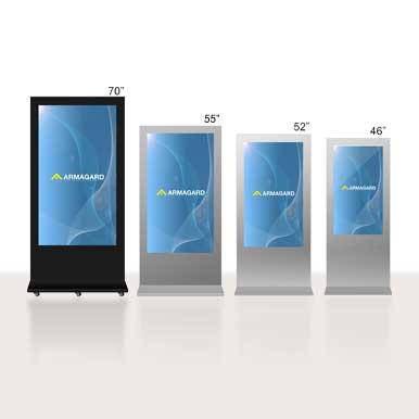 Panneau d'affichage digital LCD